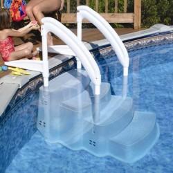 Scala per accesso facilitato in piscina per persone e cani Festiva Lumi-O