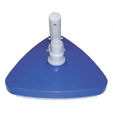 Scopa aspirante triangolare con spazzole ideale per il for Scopa per piscina
