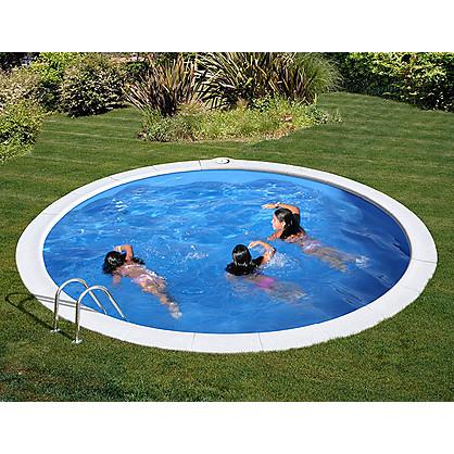 Piscina gre sumatra diam 3 50 m h 120 cm interrata tonda - Prezzo piscina interrata ...