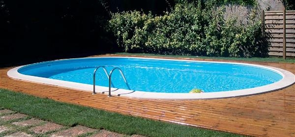 Piscina gre sumatra 8 x 4 metri altezza 120 cm interrata for Piscinas desmontables enterradas