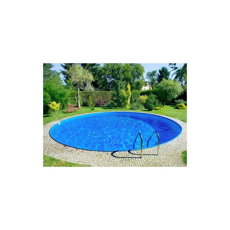 Piscina rotonda interrata o fuori terra 4 m di diametro for Piscina 8 metri x 4