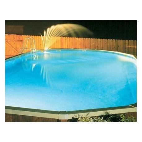 Fontana luminosa per faro aqualuminator per piscine fuori terra - Fontana per piscina ...