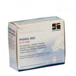 Pastiglie Phenol Red reagenti  per misurazione ph
