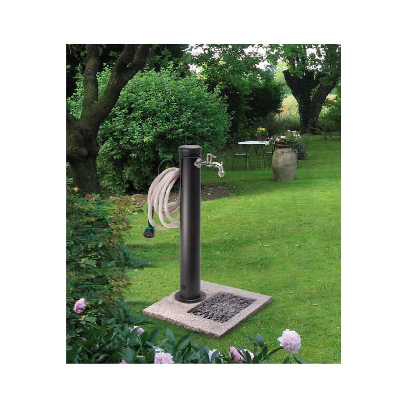 Fontanella in ferro completa di impianto e rubinetto - Accessori per fontane da giardino ...