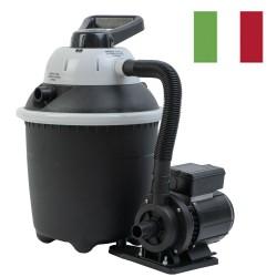 Monoblocco Marinox FI-15. Filtro a sabbia e pompa da 4 mc/h