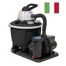 Monoblocco Marinox FI-25. Filtro a sabbia e pompa da 6 mc/h