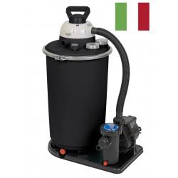 Monoblocco Marinox FI-112. Filtro a sabbia e pompa da 15 mc/h