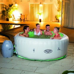 Bestway PARIS Lay Z SPA con luci - Piscina Idromassaggio