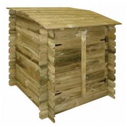 Locale tecnico CLASSIC in legno per piscine fuori terra - by Ubbink