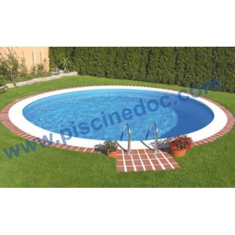 prezzo piscina circolare interrata diam 7 metri in kit