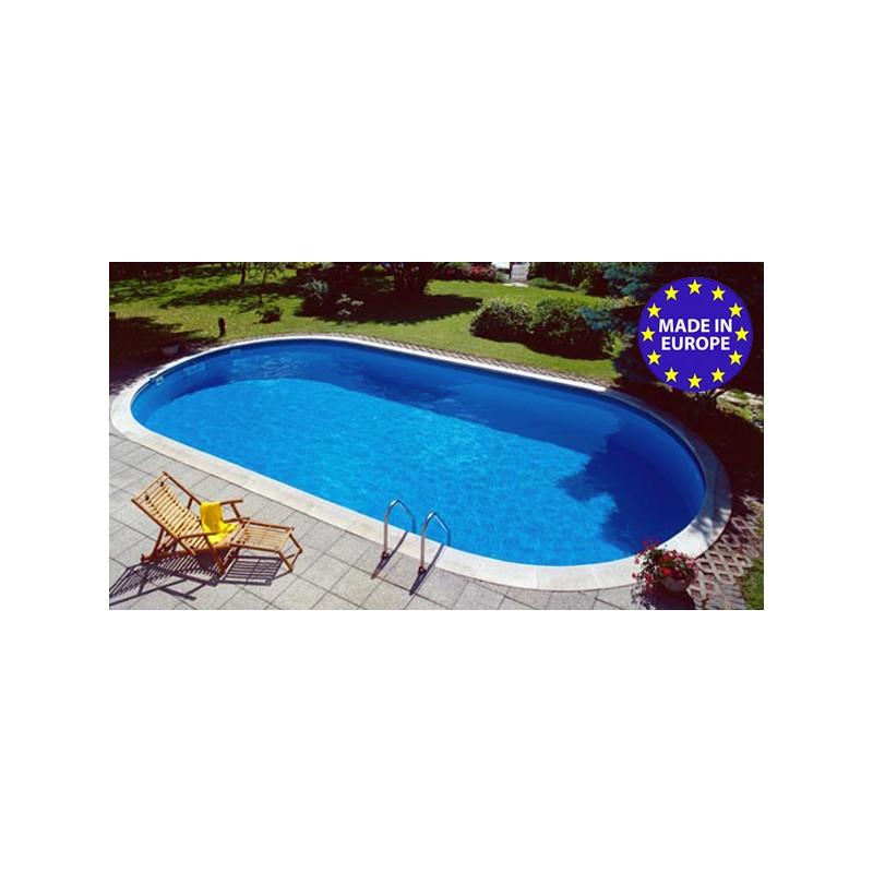 Piscina ovale interrata in kit 11 x 5 50 m maldive altezza 150 cm - Lettini piscina ikea ...
