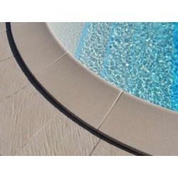 Bordo perimetrale per piscine tonde interrate in kit