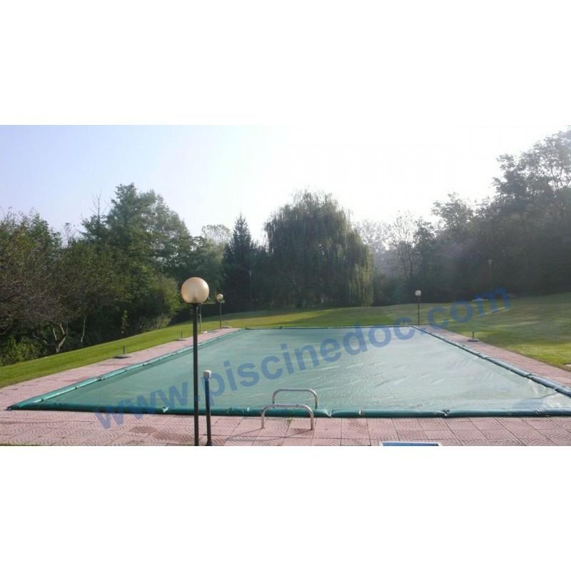 Copertura invernale wincover per piscina 11 x 5 m prezzo for Piscina 8 metri x 4