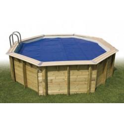 Copertura estiva a bolle Ubbink 6,10 x 4 m per piscina Ocea 610