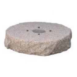 Base per fontana in granito rosa preforata 42/BSG