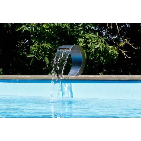 cascata per piscina mamba s led ubbink prezzo offerta. Black Bedroom Furniture Sets. Home Design Ideas