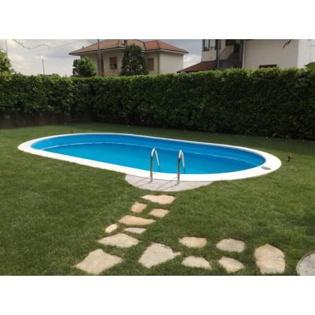 Piscina gre sumatra 8 x 4 metri altezza 120 cm interrata for Gre piscine