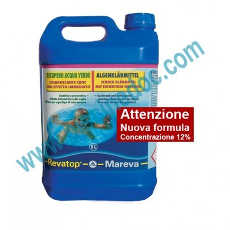Revatop mareva trattamento antialghe per recupero acqua - Antialghe per piscina dosaggio ...