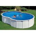 Piscina GRE VARADERO 500 x 340 m a forma di otto - h 1,20 m filtro a sabbia fuori terra rotonda