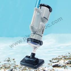 Dogfish FX4 aspiratore a batteria per fondo piscina