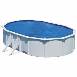 Piscina GRE BORA BORA 610 x 375 cm - h 1,20 m filtro a cartuccia fuori terra ovale
