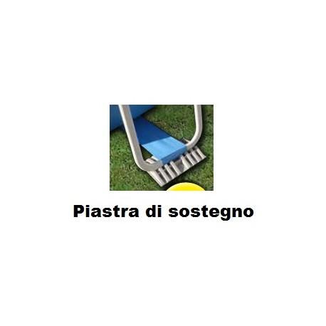 Piastra di sostegno per gamba piscine Garda e Diva New Plast