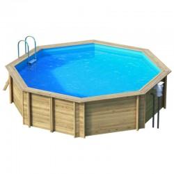 Naturalwood Weva Octo 530 - diametro 528 cm x h 133 cm - piscina in legno