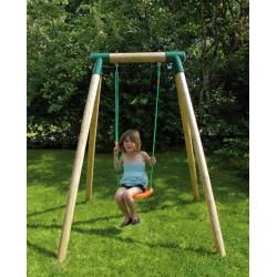 Altalena singola in legno VIOLETTA per bambini - New Plast AL1341