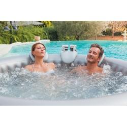 Appoggiatesta e portabevande per piscina idromassaggio NETSPA