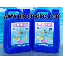 10 LITRI Revatop 12% Antialghe per recupero acqua verde