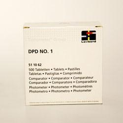 500 Pastiglie DPD 1 reagenti per analisi cloro libero