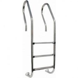 Scaletta Standard 3 gradini Acciaio Inox AISI 316