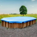 Copertura invernale per piscina Gre Mint 10,10 x 4,18 m