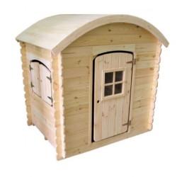 Casetta Luna Blockhouse in legno 130 x 105 h 140 cm
