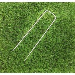 CAMBRETTE IN ACCIAIO cm 17 Pk. 50/1.000 per fissaggio erba sintetica