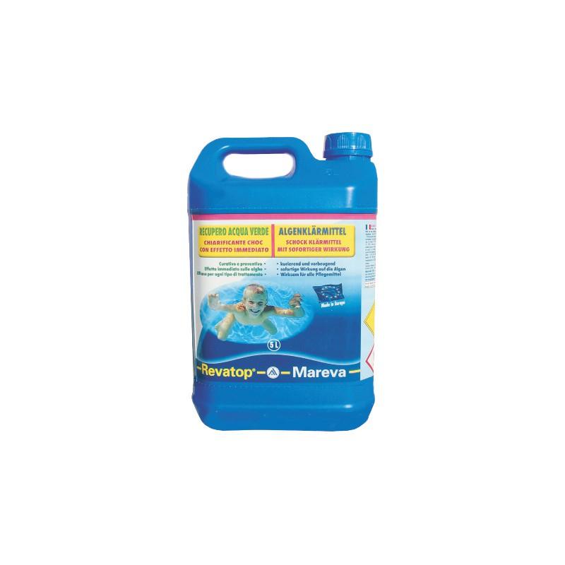 Revatop mareva trattamento antialghe per recupero acqua verde piscina - Trattamento antialghe piscina ...