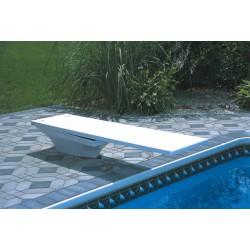 Trampolino Bianco 180 cm