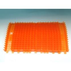 Spazzola PVC per CB arancione