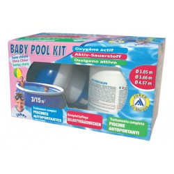 Baby Pool Kit Mareva Senza Cloro all'Ossigeno Attivo