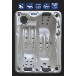 Feeling basic SPA - 2 posti vasca idromassaggio